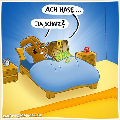 Manniac Videos Fotos Und Reise E Card Cartoons Schatz Und Hase